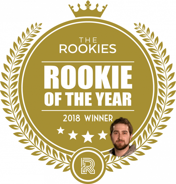 """Nick Ladd Wins """"Rookie Of The Year"""" Award From TheRookies"""