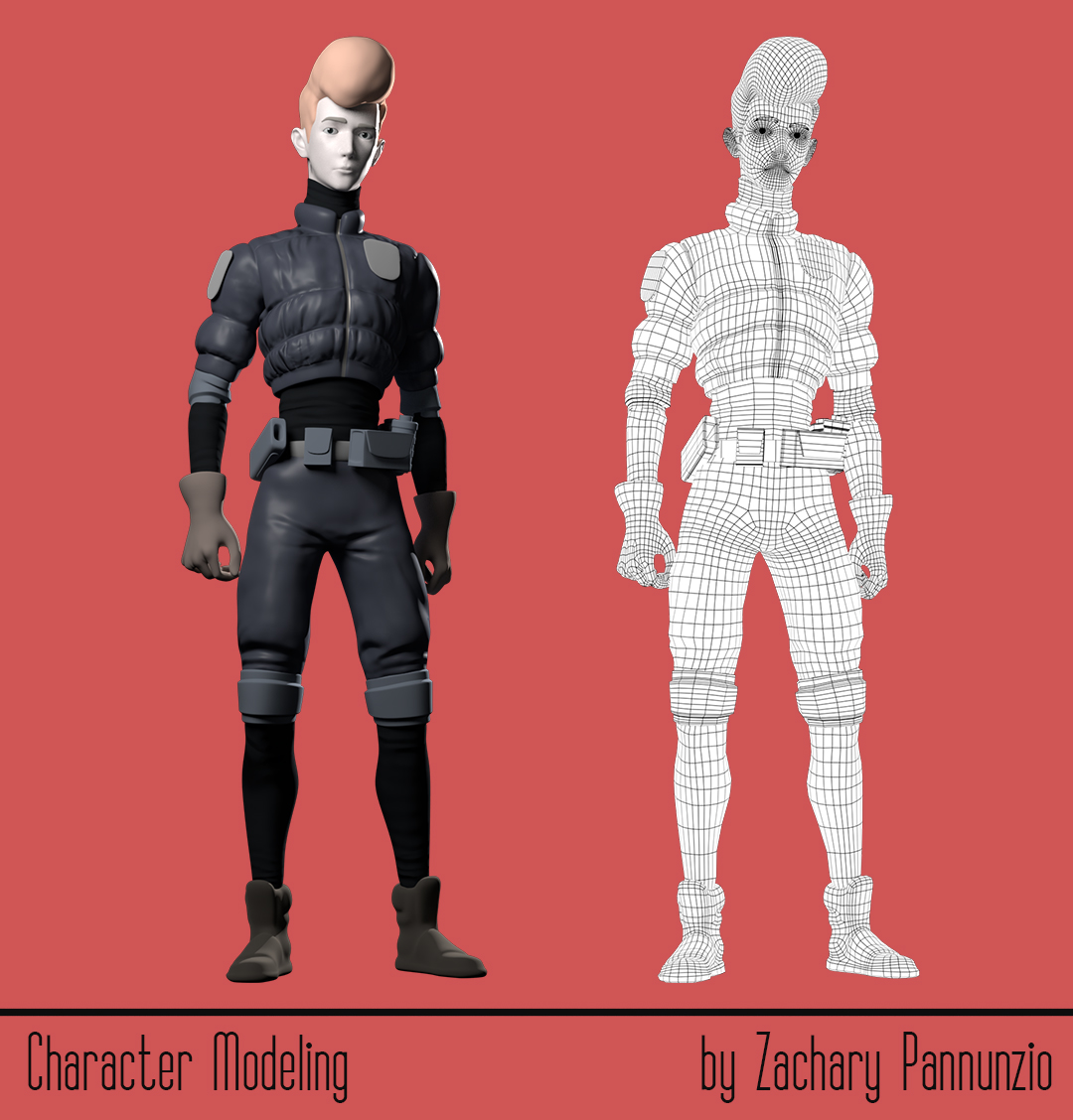 Character Design University Canada : Zachary pannunzio d animation and computer generated