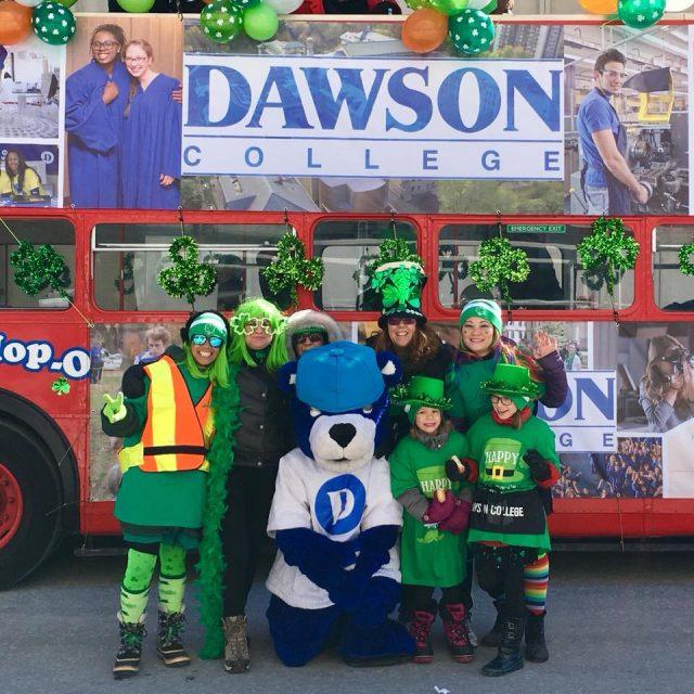 Dawson at St. Patrick's Parade 2018