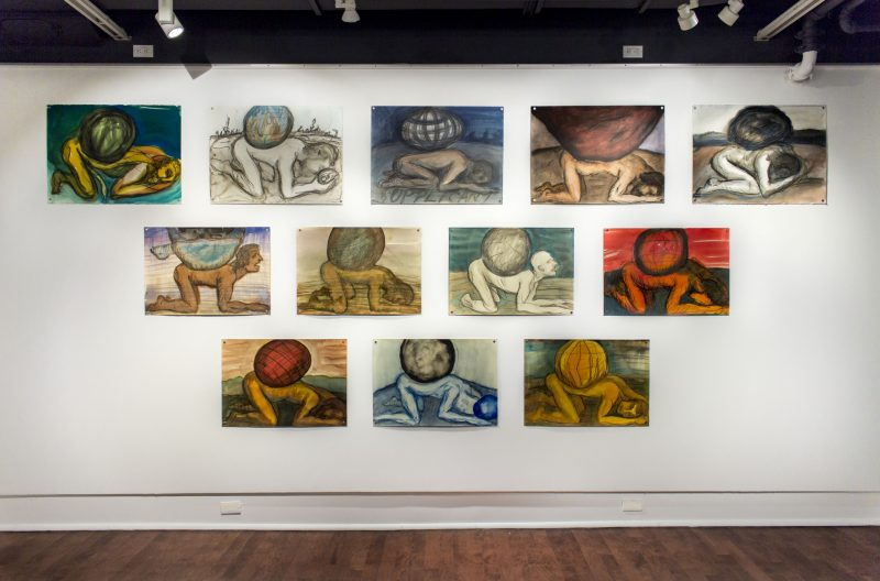 The Weight series, 2013