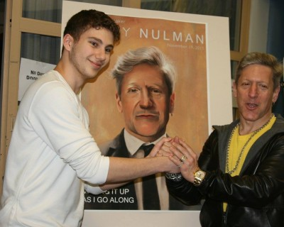 Nulman with Ali 2