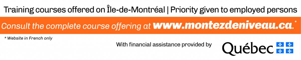 Consult the complete course offering at montezdeniveau.ca