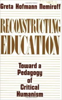 Book on Reconstructing Education