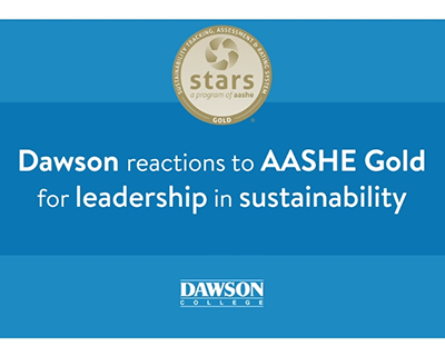 Dawson Reactions to AASHE gold