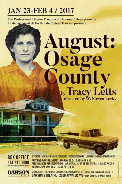 August: Ausage County poster