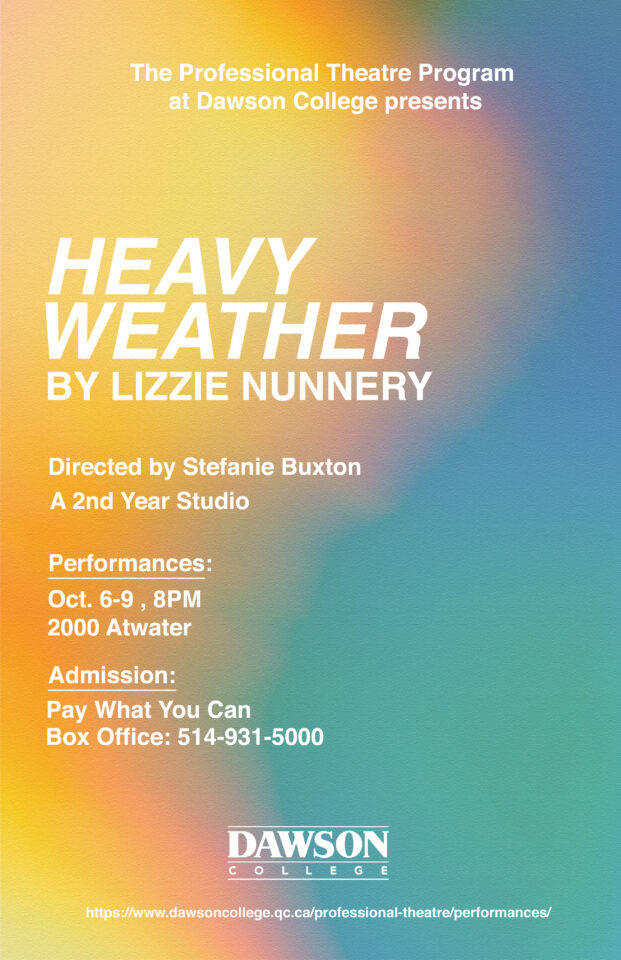 heavy weather poster