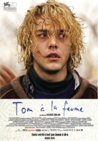 Description:  Affiche du film  Tom à la ferme