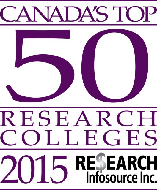 2015 Canada's Top 50 Research Colleges