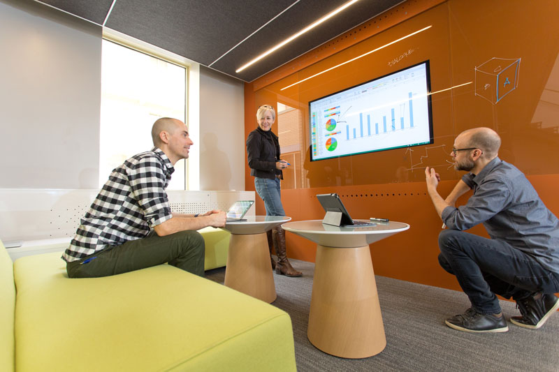 Collaboration room - smart wall