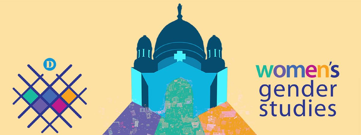 Banner for women's week 2017 showing coloured dome